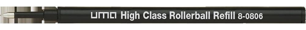 8-0806 uma High Class Rollerball Refill black