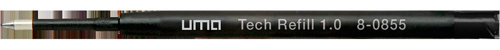 8-0855 uma Tech® Refill 1.0 black